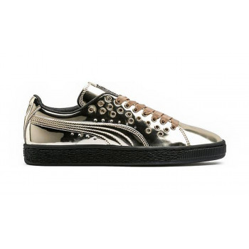 Puma Basket XL Lace Metal Gold-Gold
