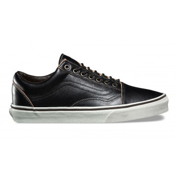 Vans Old Skool All Black Leather