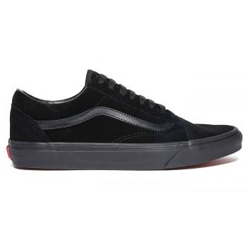 Vans Old Skool Suede Triple Black Leather