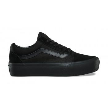 Vans Ua Old Skool Platform Black Black