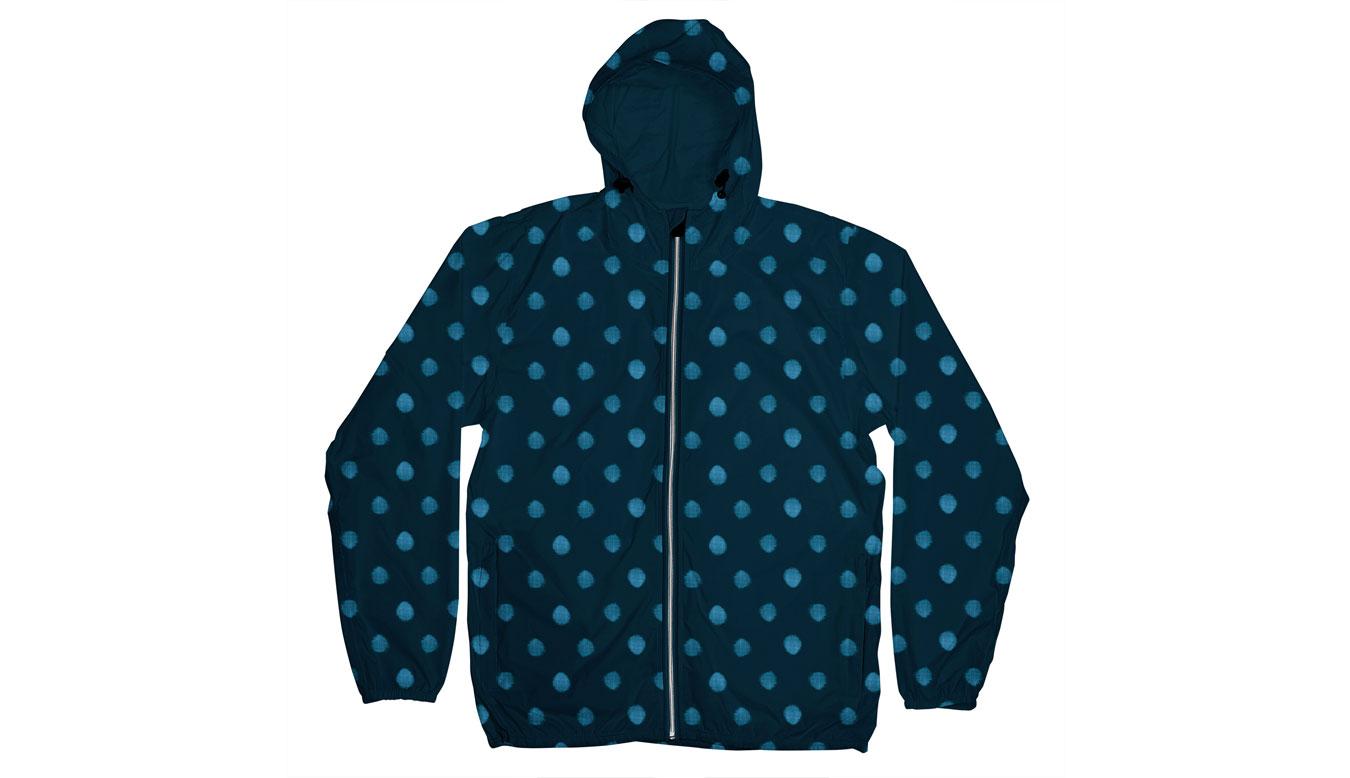 Dedicated Windbreaker Dots Navy modré 16220 - vyskúšajte osobne v obchode
