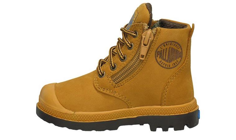 a8f7345eff755 Detská obuv Palladium Pampa Hi Leather 22744-221
