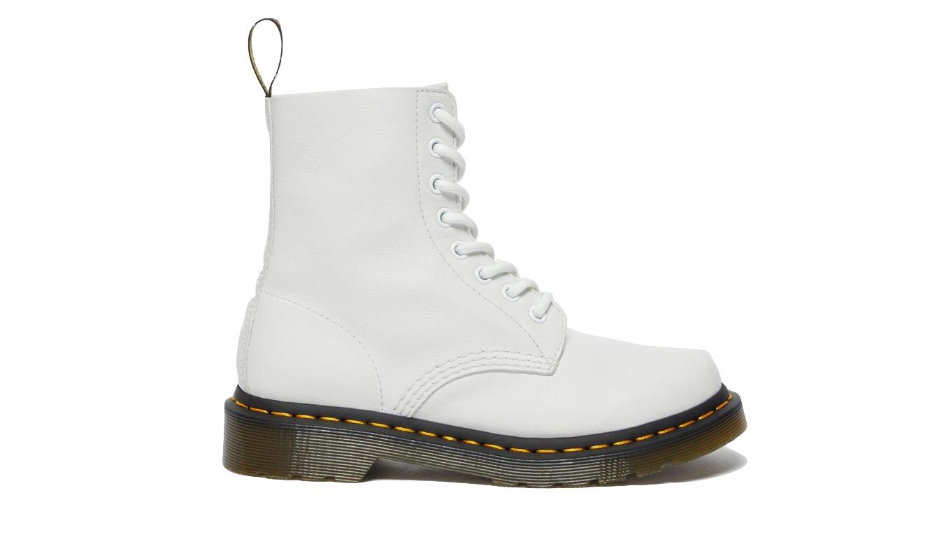 Dr. Martens 1460 Pascal Virginia Leather Boots biele DM26802543 - vyskúšajte osobne v obchode