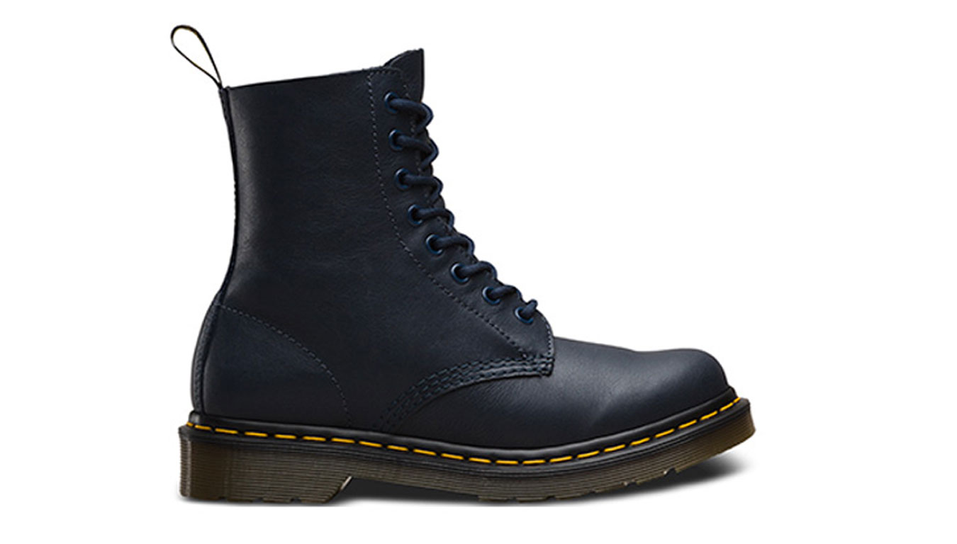 Dr. Martens 1460 Pascal Virginia Leather Navy modré DM13512410 - vyskúšajte osobne v obchode