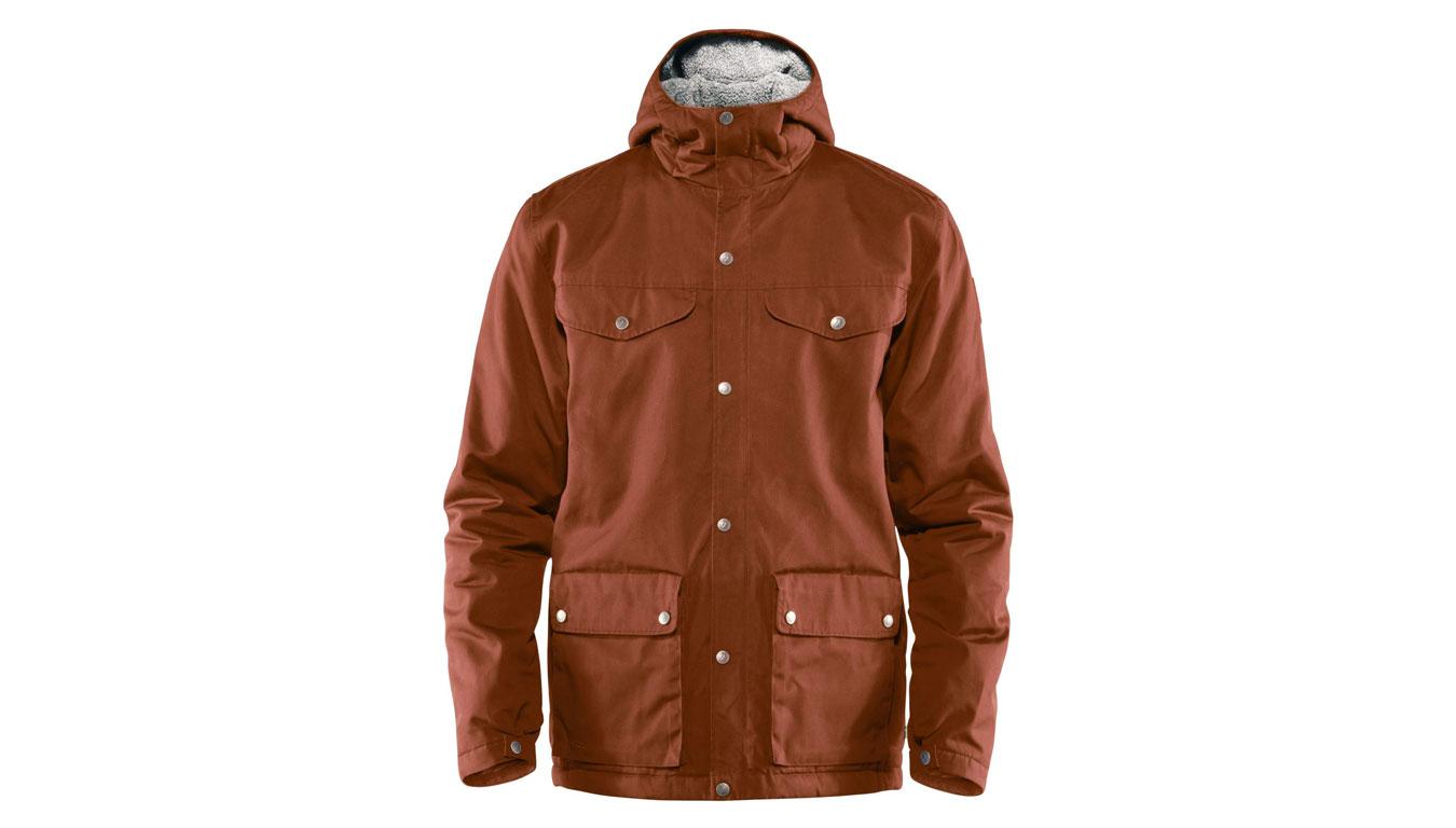 Fjällräven Greenland Winter Jacket Autumn Leaf hnedé F87122-215 - vyskúšajte osobne v obchode