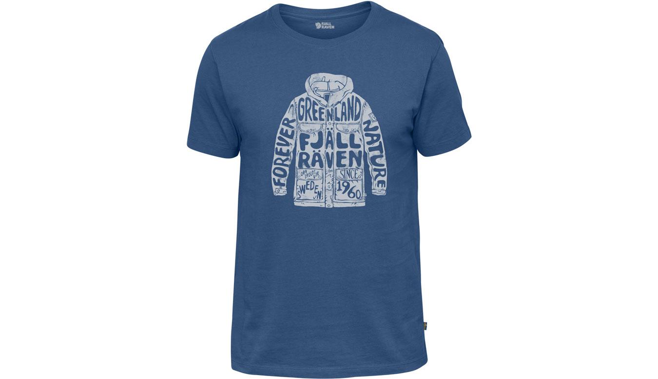 Fjällräven Greenland Forever T-Shirt Deep Blue modré F81948-527 - vyskúšajte osobne v obchode