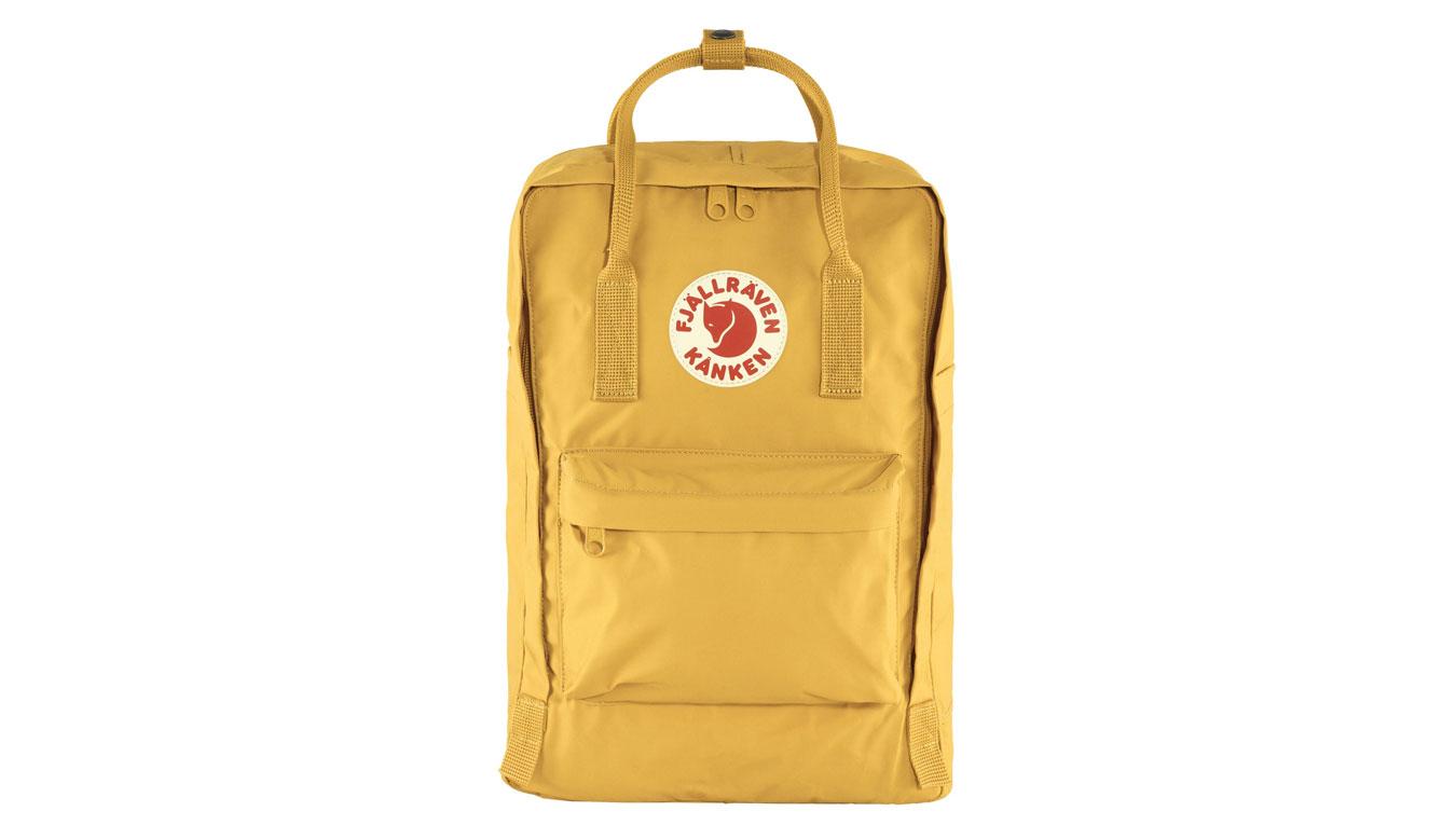"""Fjällräven Kånken Laptop 15"""" Ochre žlté F27172-160 - vyskúšajte osobne v obchode"""