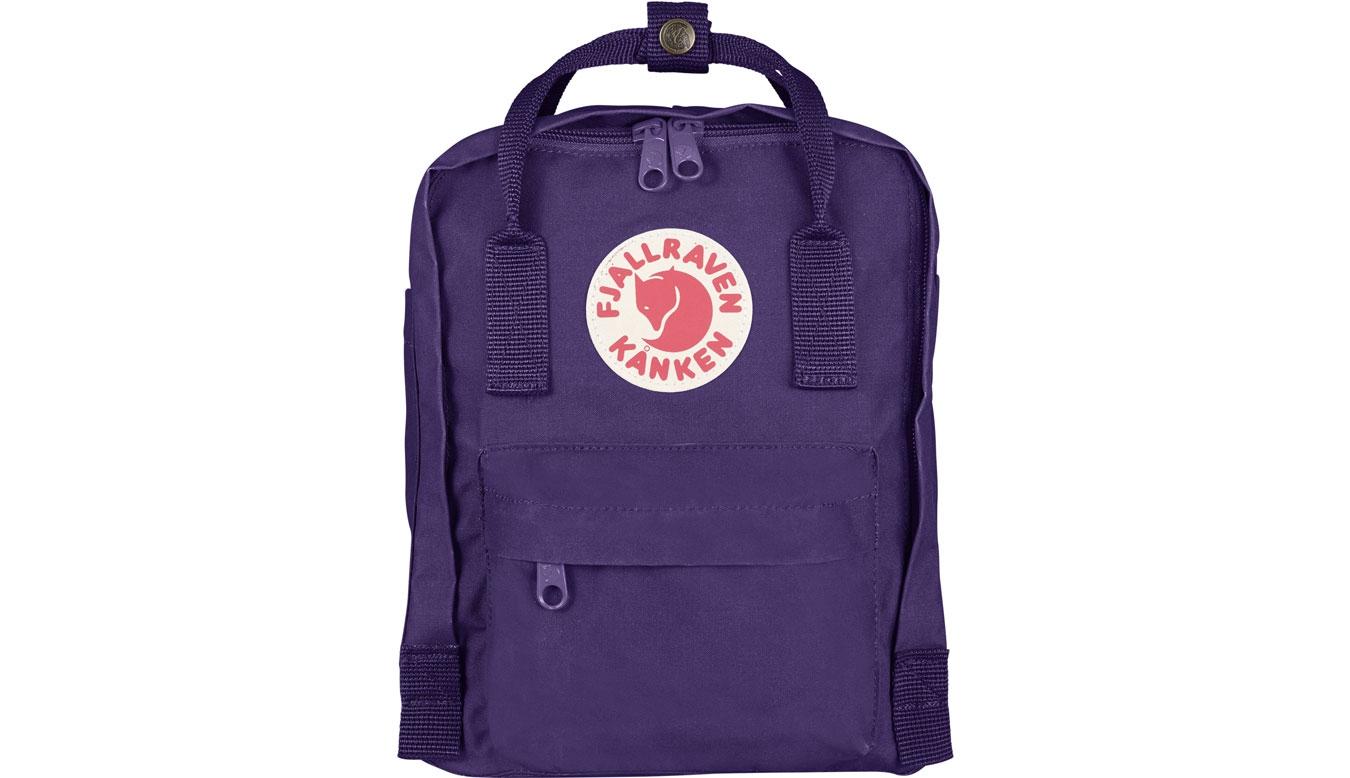 Fjällräven Kånken Mini Kids Purple fialové F23561-580 - vyskúšajte osobne v obchode