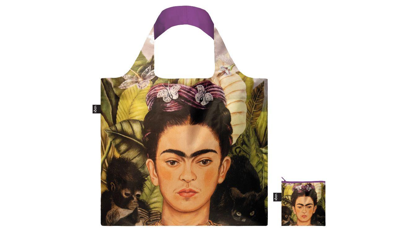 Loqi FRIDA KAHLO Self Portrait Recycled Bag farebné FK.SP.R - vyskúšajte osobne v obchode