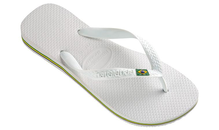 Havaianas Brasil White M