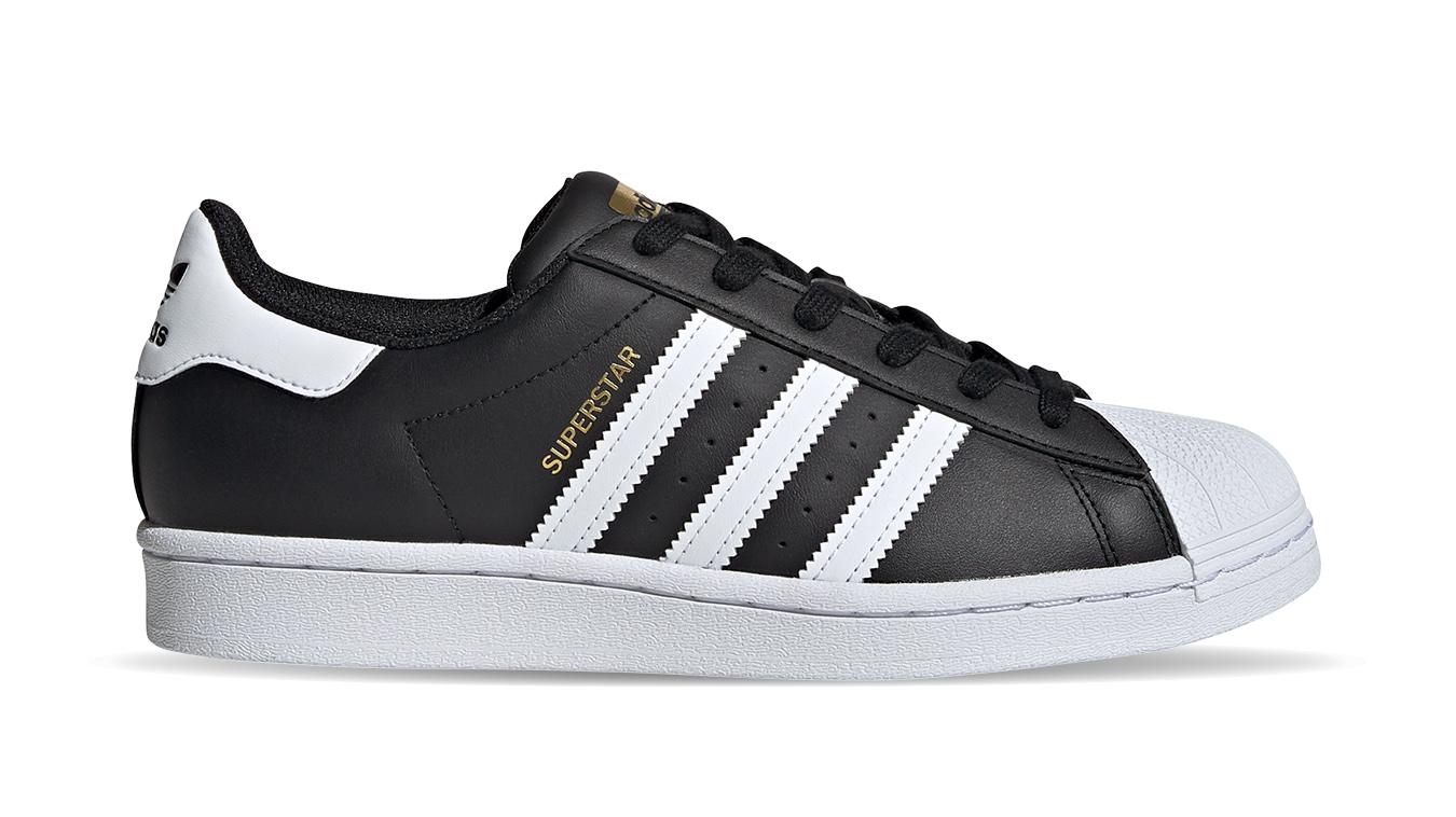 adidas Superstar w čierne FV3286 - vyskúšajte osobne v obchode