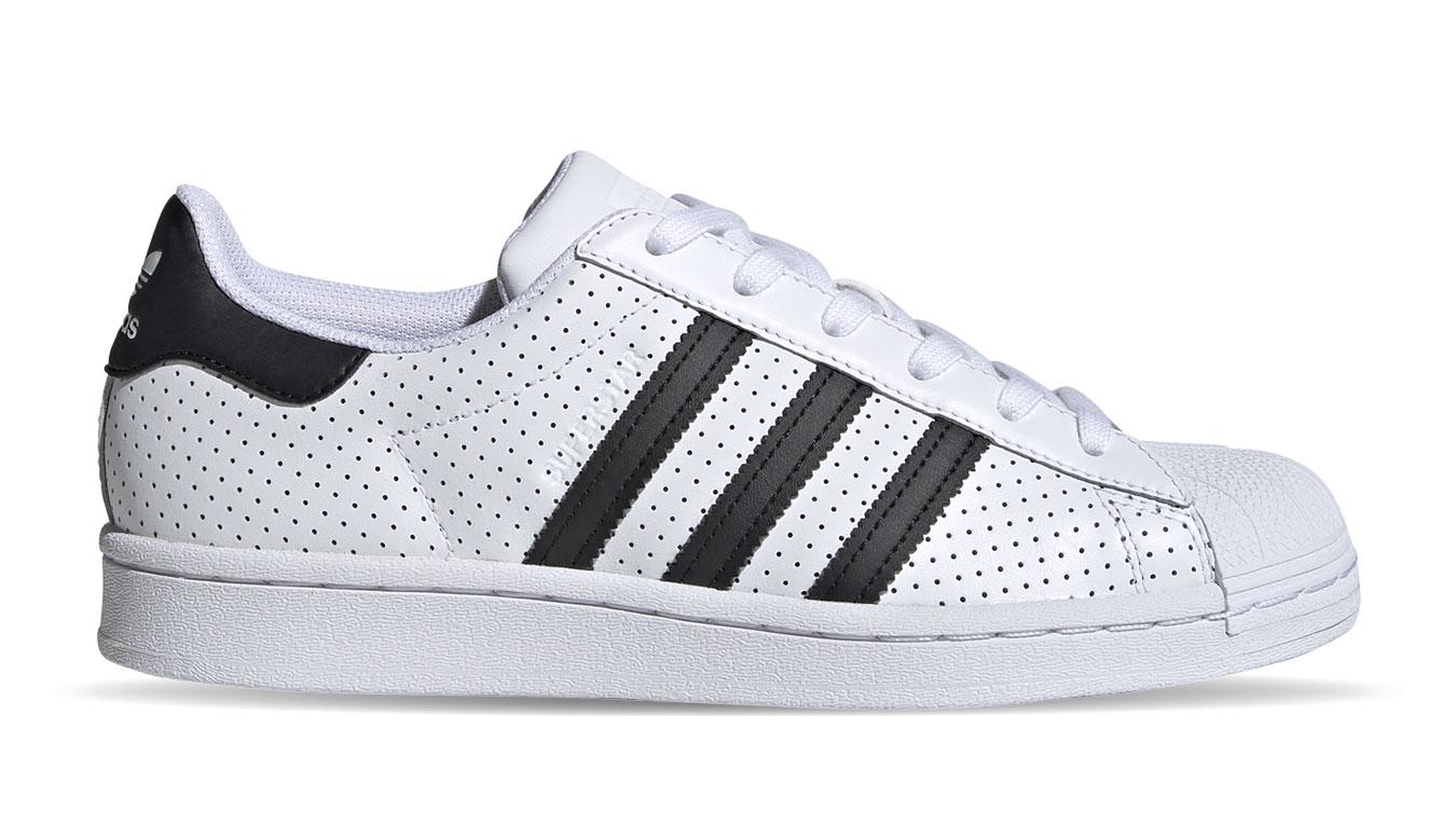 adidas Superstar w biele FV3444 - vyskúšajte osobne v obchode