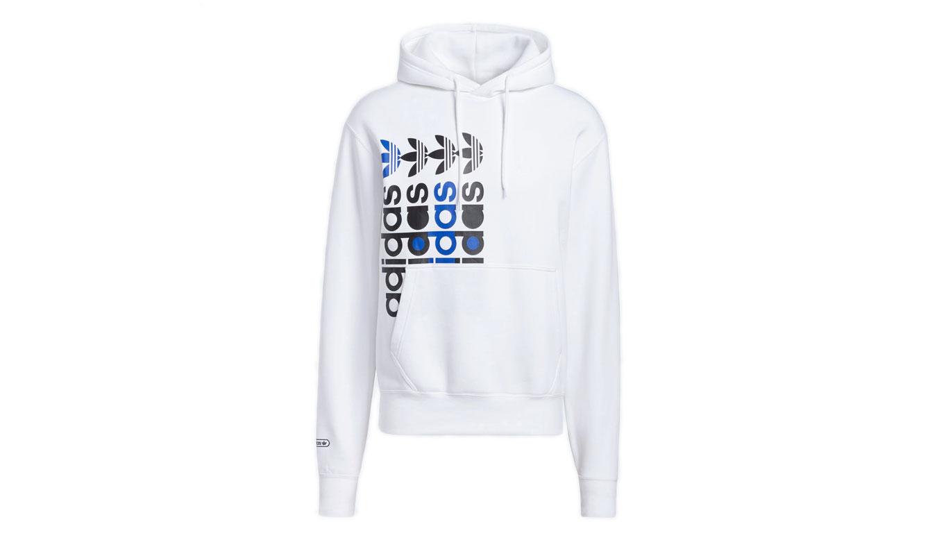 adidas Frm Hoody White biele GN3871 - vyskúšajte osobne v obchode