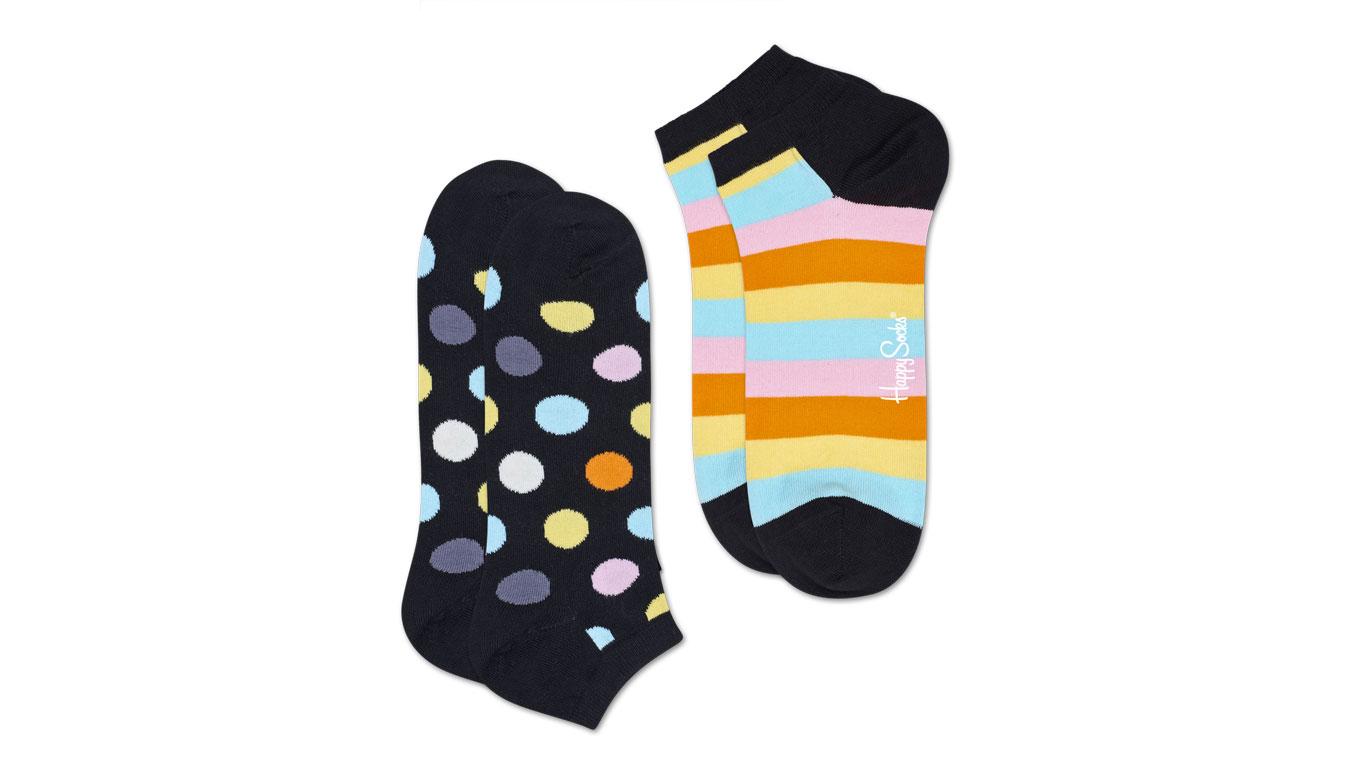 Happy Socks 2-Pack Big Dot Low Sock tenisky