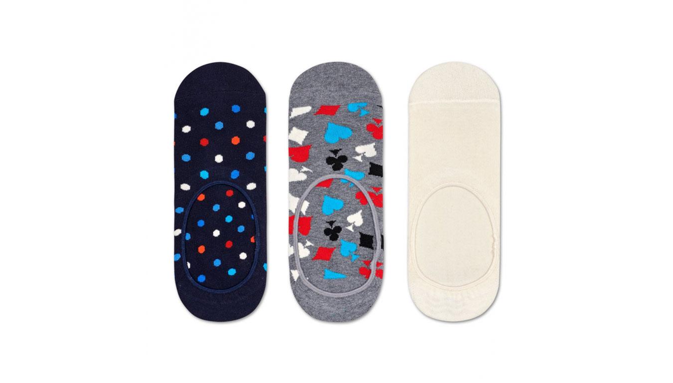 Happy Socks 3-Pack Dot Liner Sock tenisky