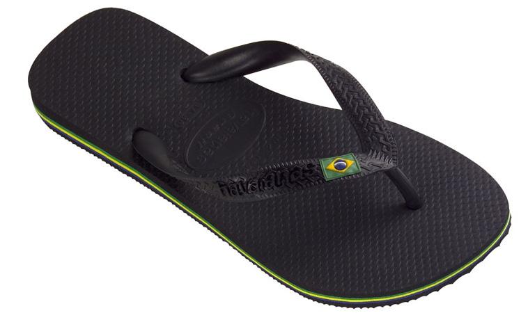 Havaianas Brasil Black W