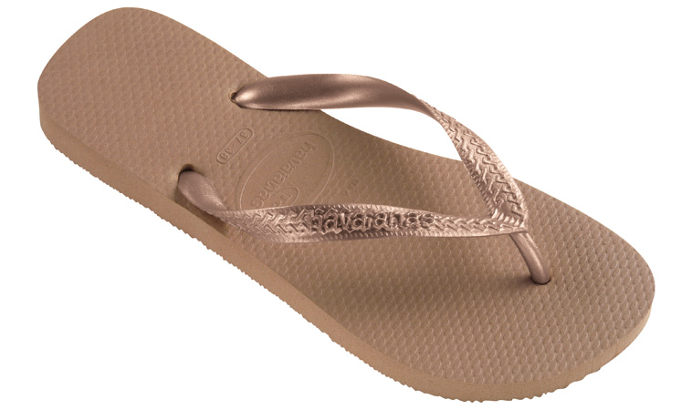Havaianas Top Metalic Rose Gold