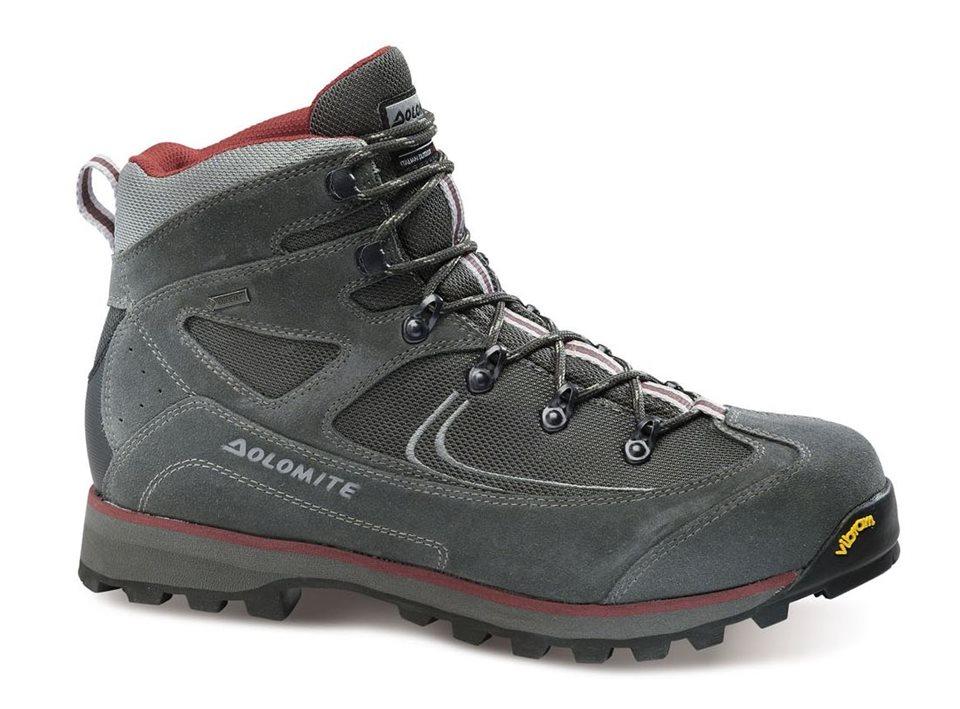 obuv dolomite ORTISEI GTX dark grey/bordeaux (85565600 062)