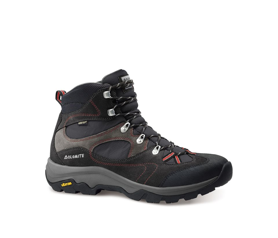 obuv dolomite KITE SU GTX® grey/red (85568200 002)