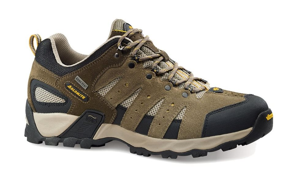 obuv dolomite SPARROW LOW GTX® mud/yellow (85550700 028)