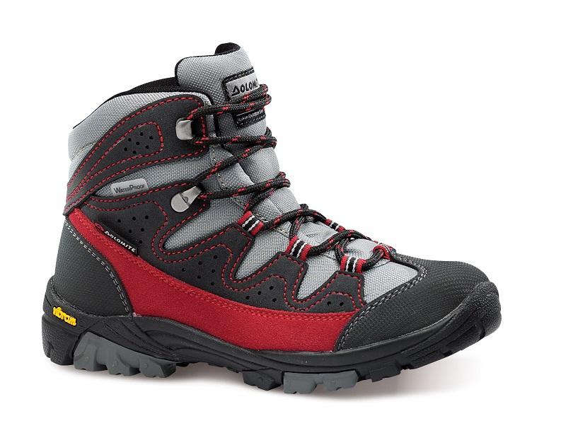 obuv dolomite MARMOTTA WP 27-35 red/grey (85568900 005)