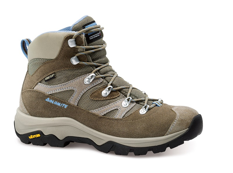 obuv dolomite KITE SU W GTX® brown/light blue (85568500 009)