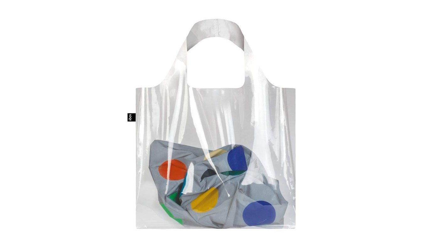 Loqi Bag Transparent farebné BA.TR - vyskúšajte osobne v obchode