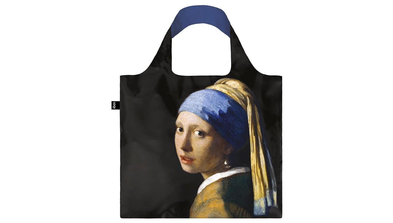 LOQI MUSEUM JOHANNES VERMEER GIRL WITH A PEARL EARRING čierne JV.GI - vyskúšajte osobne v obchode