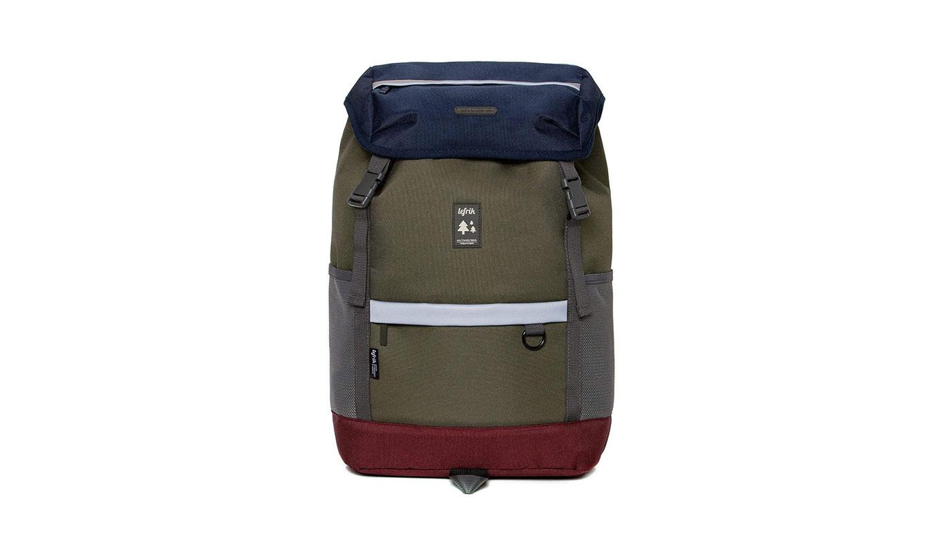 Lefrik Mountain Backpack Multi Navy zelené Mountain_NVY - vyskúšajte osobne v obchode