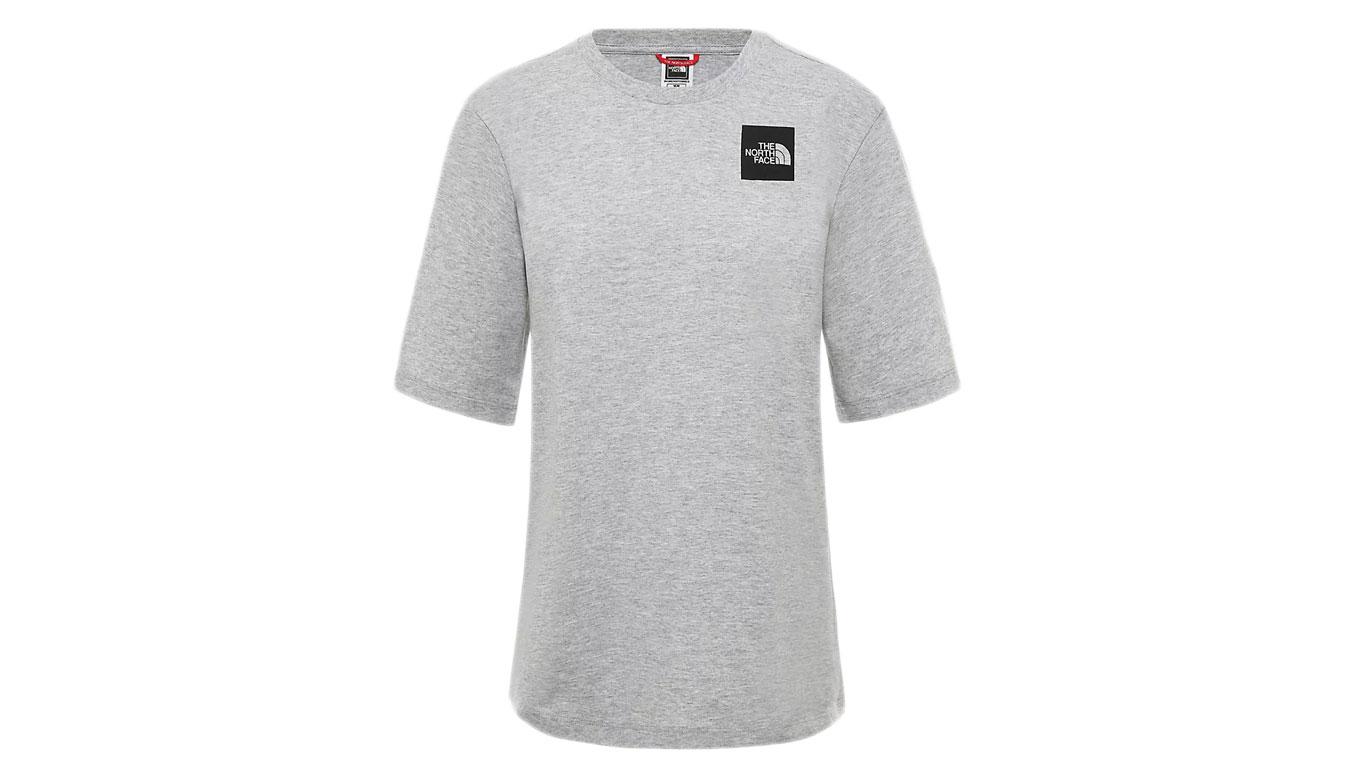 The North Face W Boyfriend Fine T-shirt šedé NF0A4SYADYX1 - vyskúšajte osobne v obchode