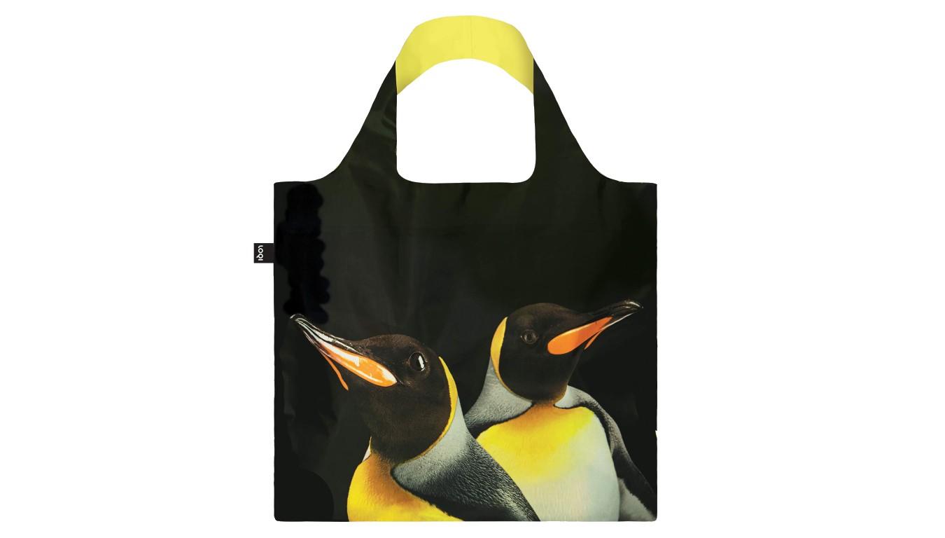 Loqi NATIONAL GEOGRAPHIC King Penguins Bag čierne NG.KP - vyskúšajte osobne v obchode