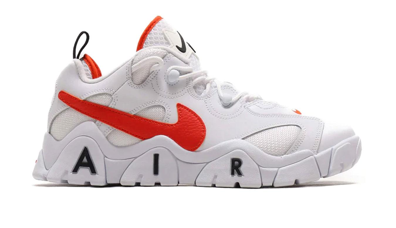 Nike Air Barrage Low biele CJ5395-100 - vyskúšajte osobne v obchode
