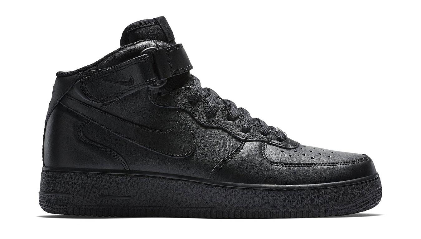 Nike Air Force 1 Mid '07 čierne 315123-001 - vyskúšajte osobne v obchode