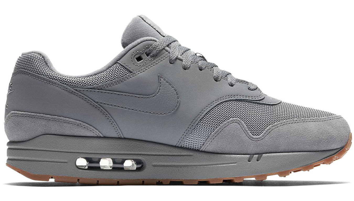 Nike Air Max 1 Cool Grey/Cool Grey-Cool Grey AH8145-005 šedé AH8145-005 - vyskúšajte osobne v obchode