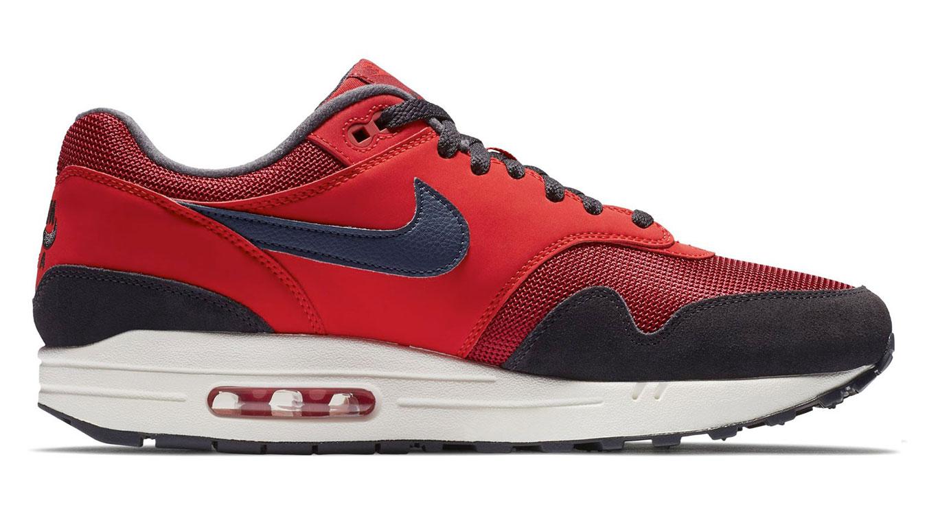 Nike Air Max 1 Red Crush/Midnight Navy-University Red AH8145-600 červené AH8145-600 - vyskúšajte osobne v obchode