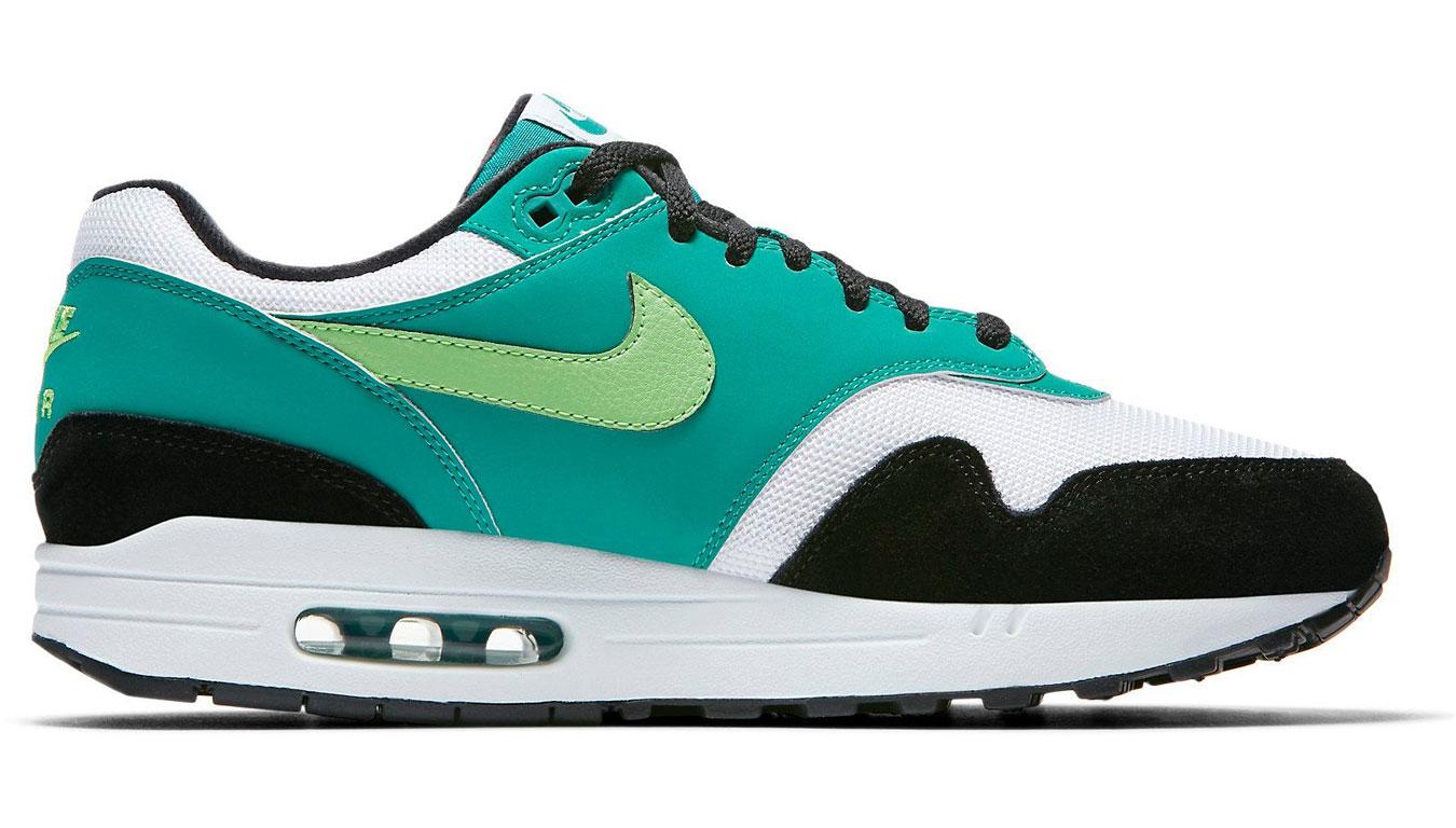 Nike Air Max 1 White/Green Strike-Neptune Green-Black AH8145-107 farebné AH8145-107 - vyskúšajte osobne v obchode