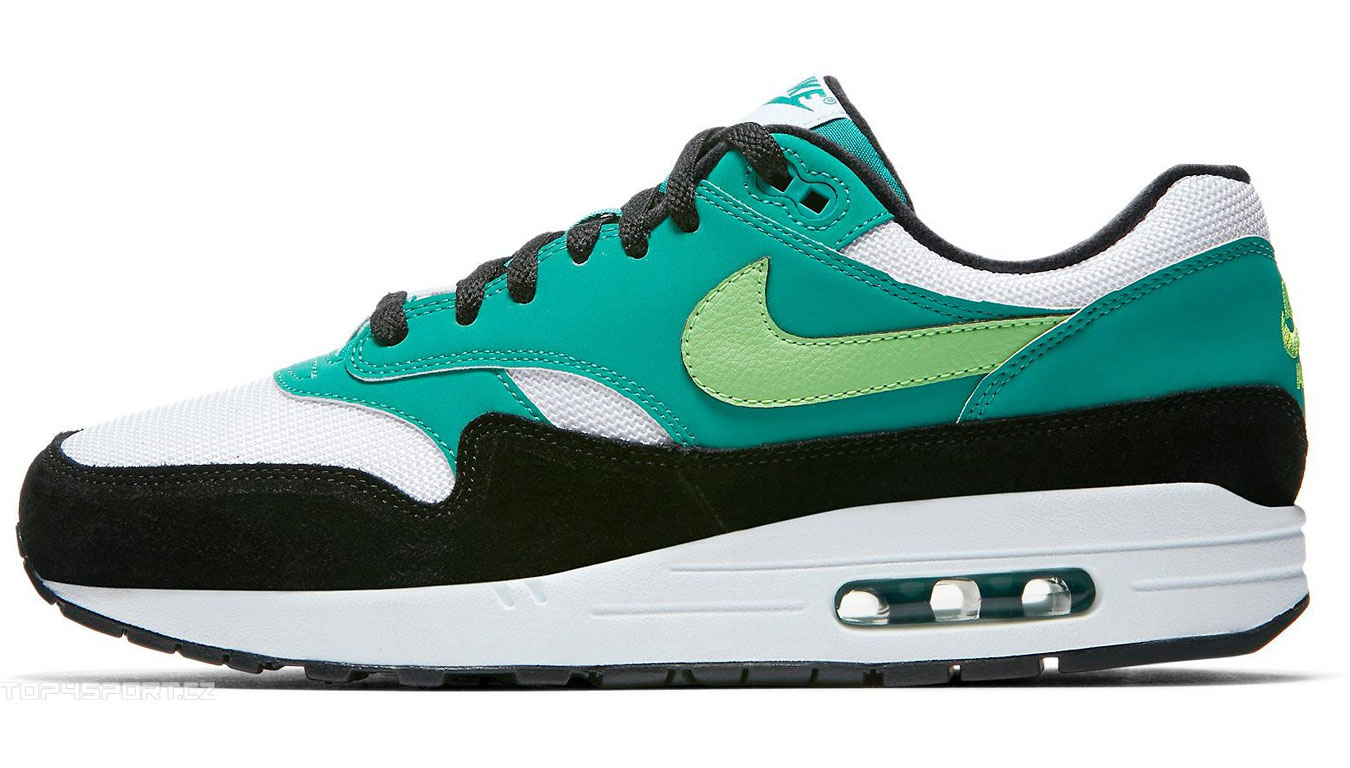 competitive price 65aad cf1fe Nike Air Max 1 White Green Strike-Neptune Green-Black AH8145-107 farebné  AH8145-107