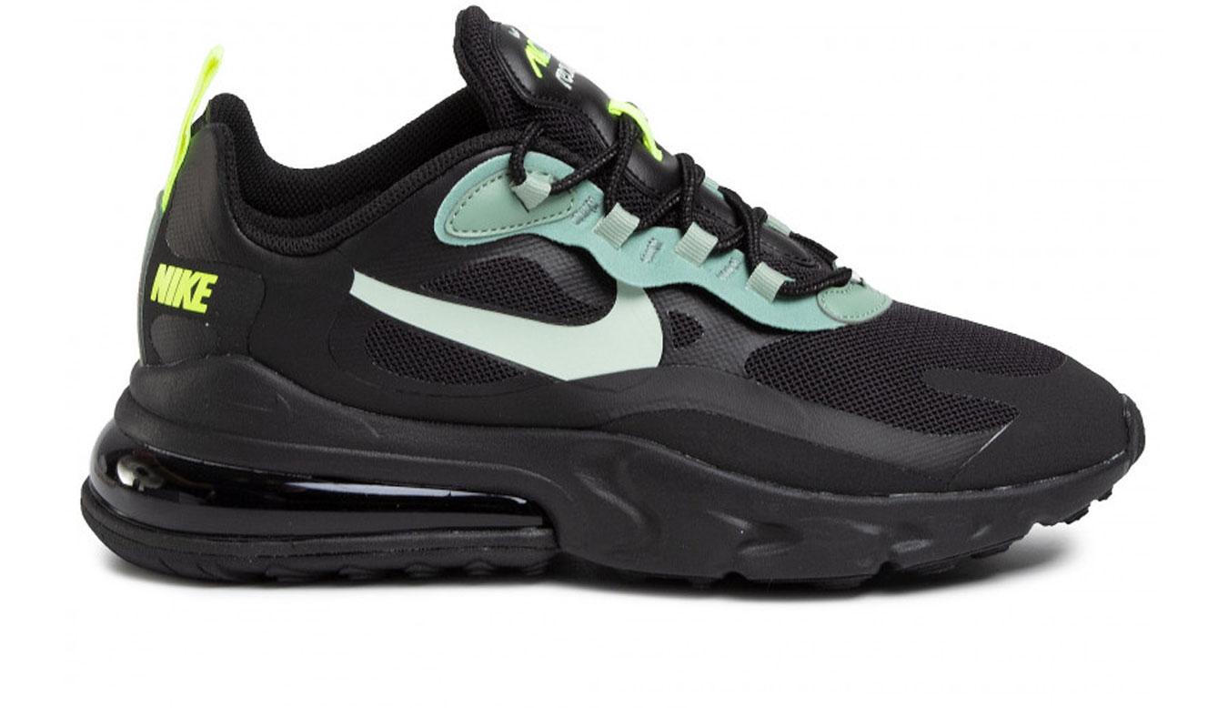 Nike Air Max 270 React Black/Pistachio Frost čierne CW7474-001 - vyskúšajte osobne v obchode