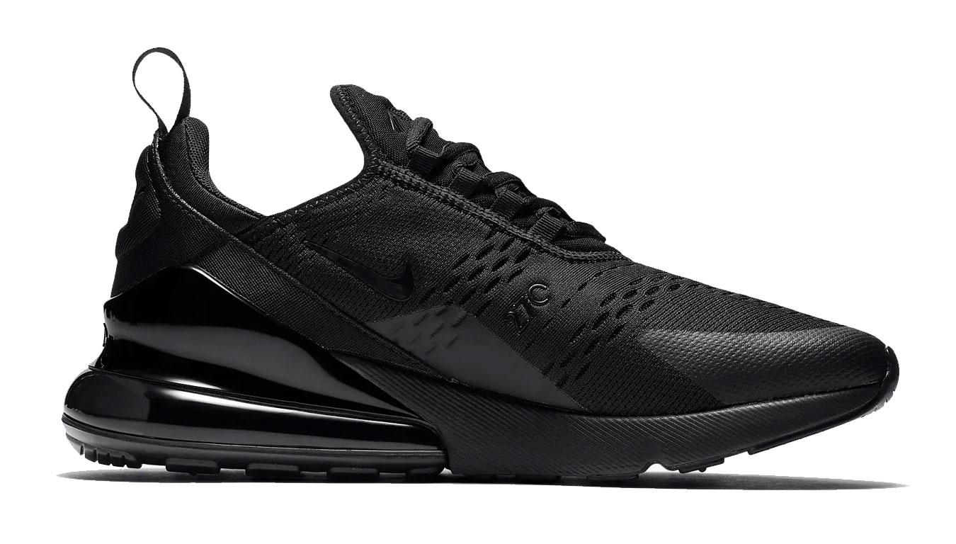 Nike Air Max 270 Triple Black čierne AH8050-005 - vyskúšajte osobne v obchode