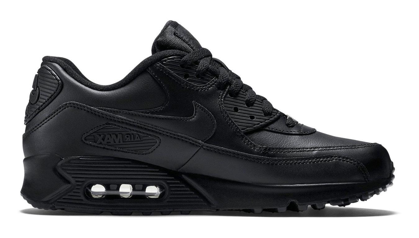 Nike Air Max 90 Black Leather šedé 302519-001 - vyskúšajte osobne v obchode