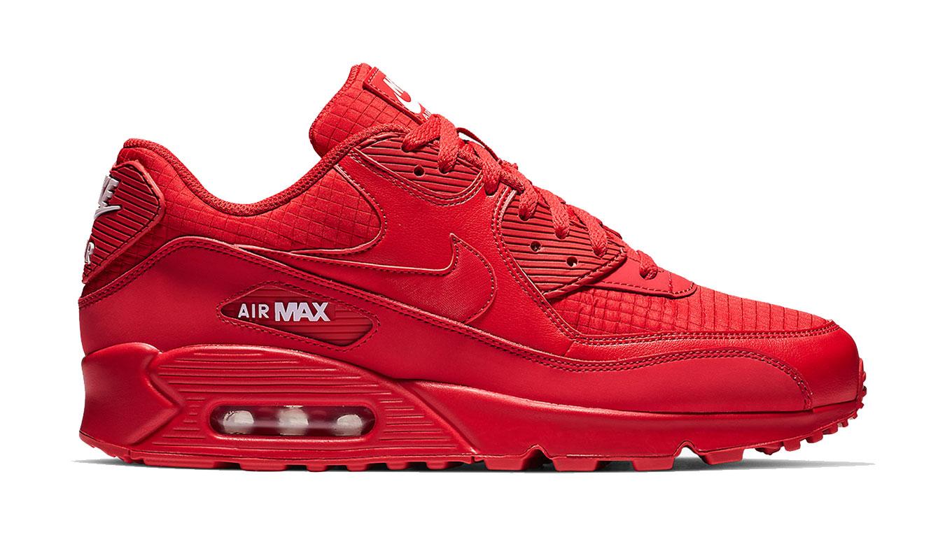 Nike Air Max 90 Essential červené AJ1285-602 - vyskúšajte osobne v obchode