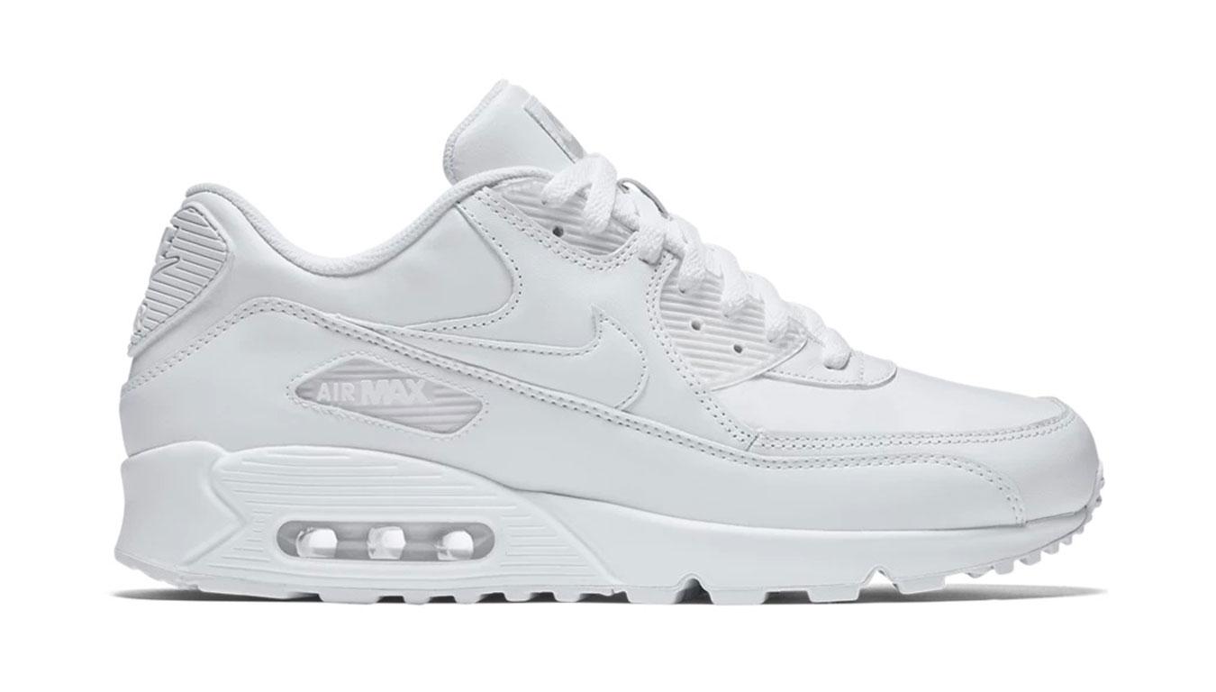 Nike Air Max 90 Leather biele 302519-113 - vyskúšajte osobne v obchode