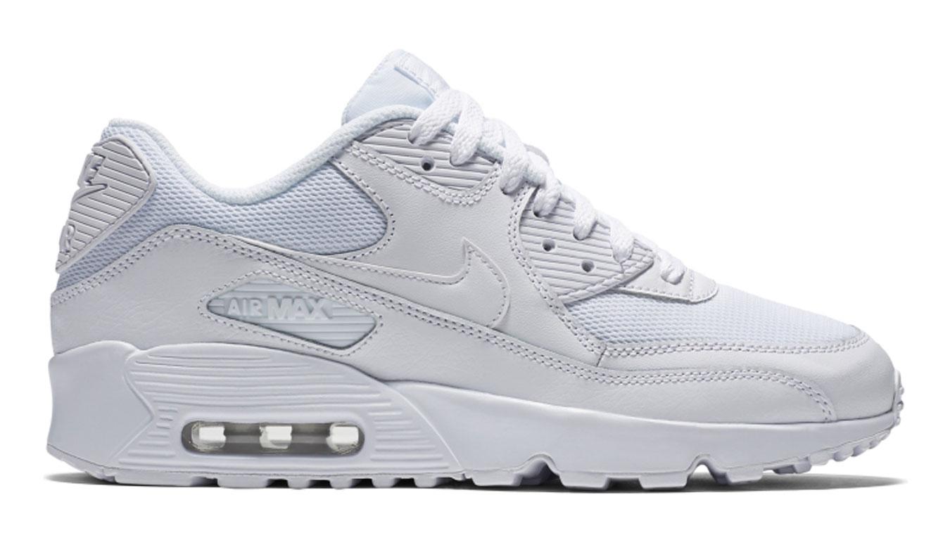 Nike Air Max 90 Mesh (GS) biele 833418-100 - vyskúšajte osobne v obchode