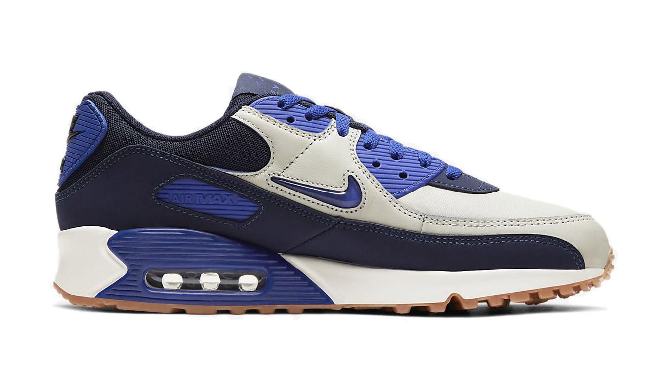 Nike Air Max 90 Premium modré CJ0611-102 - vyskúšajte osobne v obchode