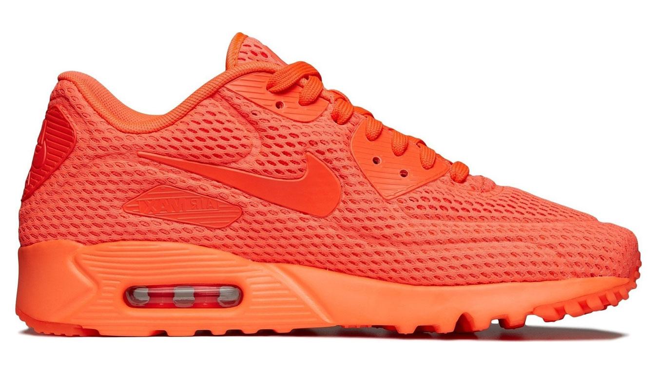 Nike Air Max 90 Ultra Hyperfuse Neon červené 725222-800 - vyskúšajte osobne v obchode
