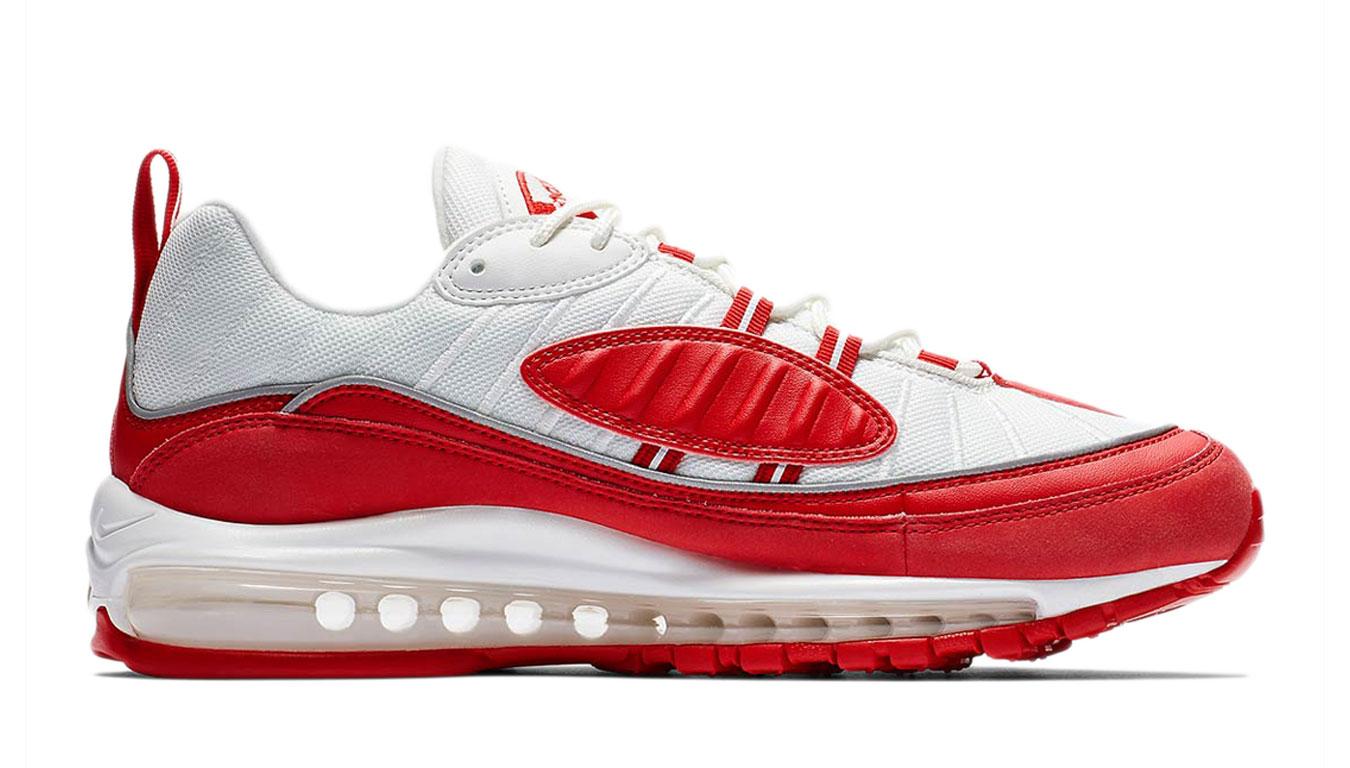 Nike Air Max 98 červené 640744-602 - vyskúšajte osobne v obchode
