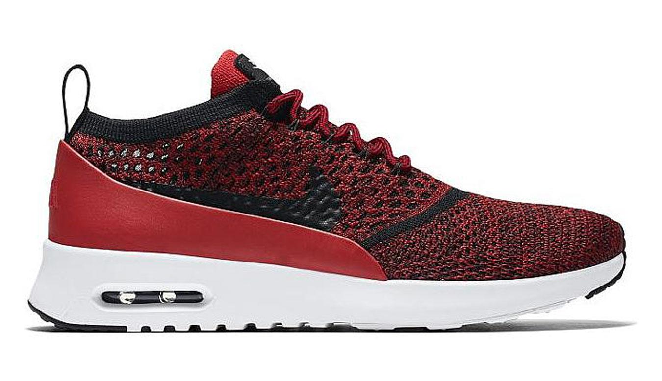 Nike Air Max Thea Ultra Flyknit červené 881175-601 - vyskúšajte osobne v obchode