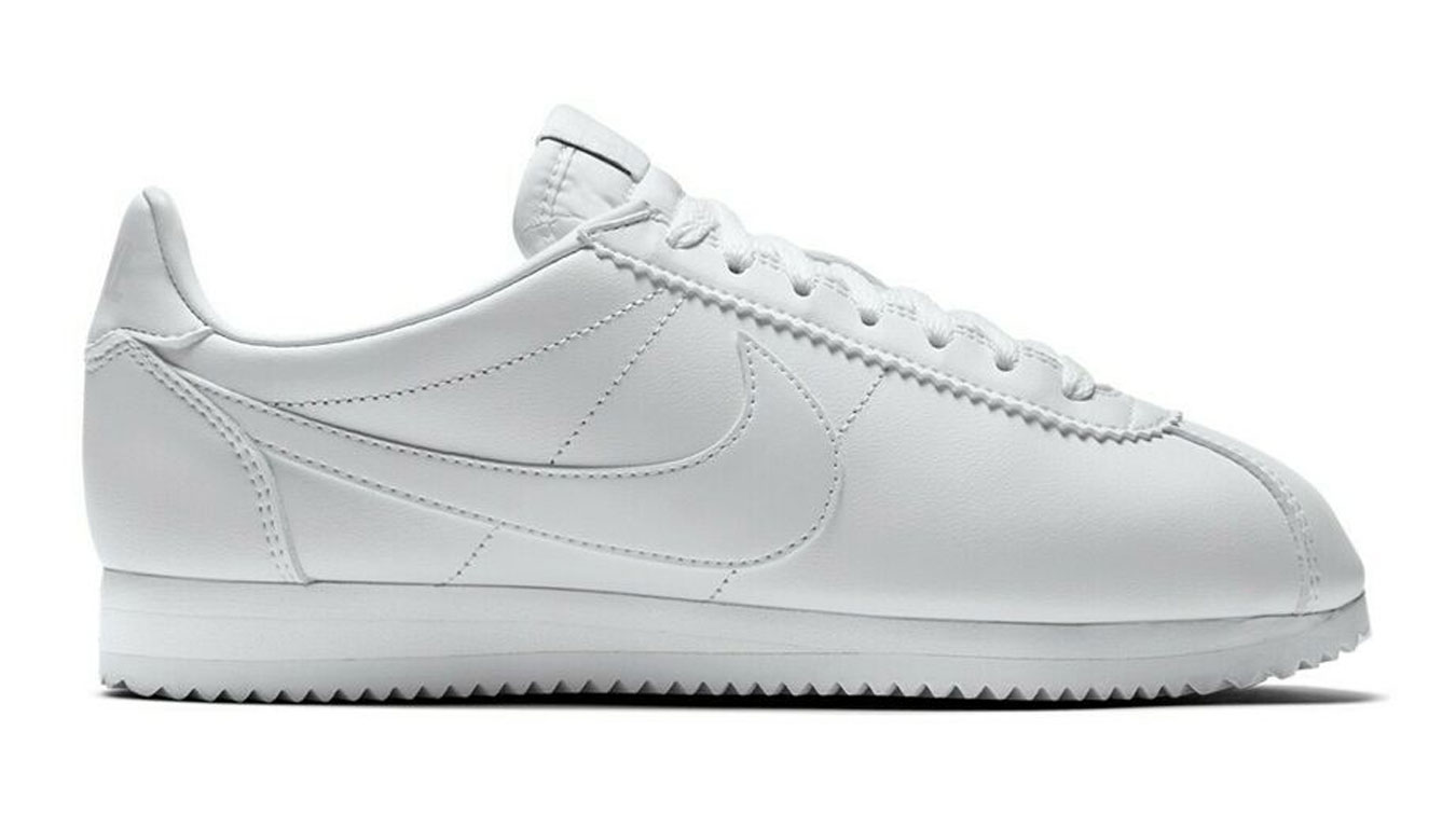 Nike Classic Cortez All White šedé 807471-102 - vyskúšajte osobne v obchode