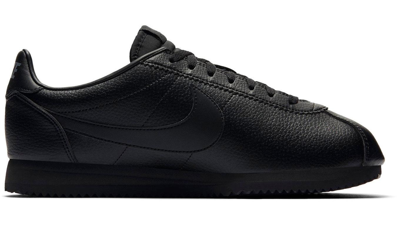 Nike Classic Cortez Leather Black/Black-Anthracite 749571-002 čierne 749571-002 - vyskúšajte osobne v obchode