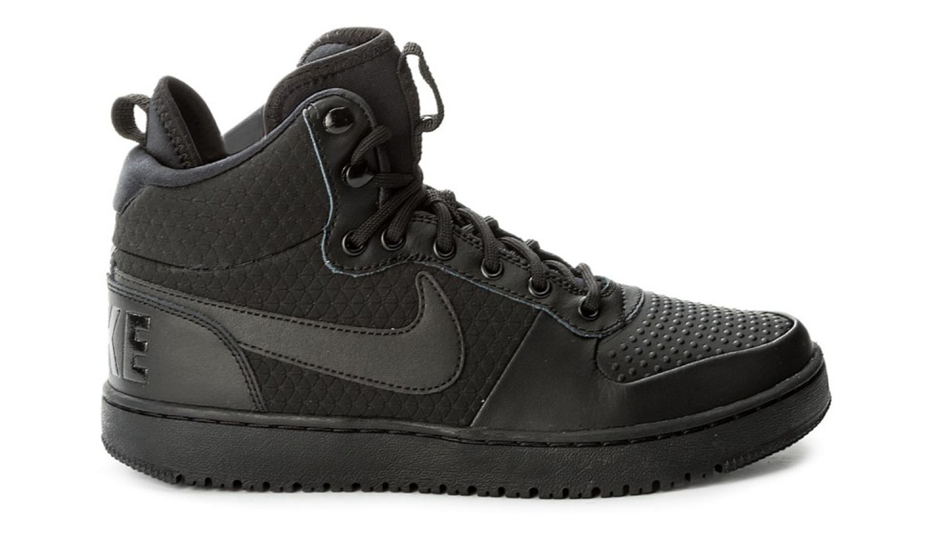 Nike Court borough Mid Winter čierne AA0547-002 - vyskúšajte osobne v obchode